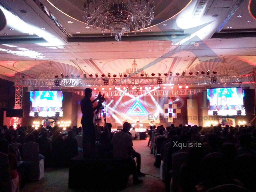 Corporate Event conducted by Xquisite Event Management in Chennai..