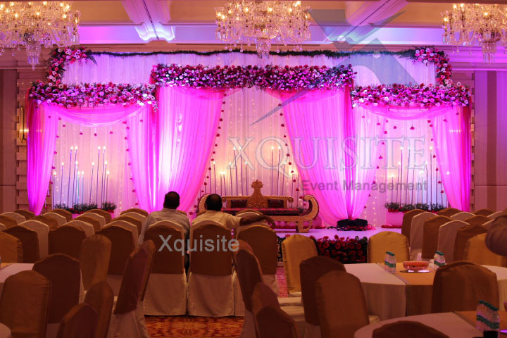 The Wedding Event conducted by Xquisite Event Management in Chennai for a very well known family.