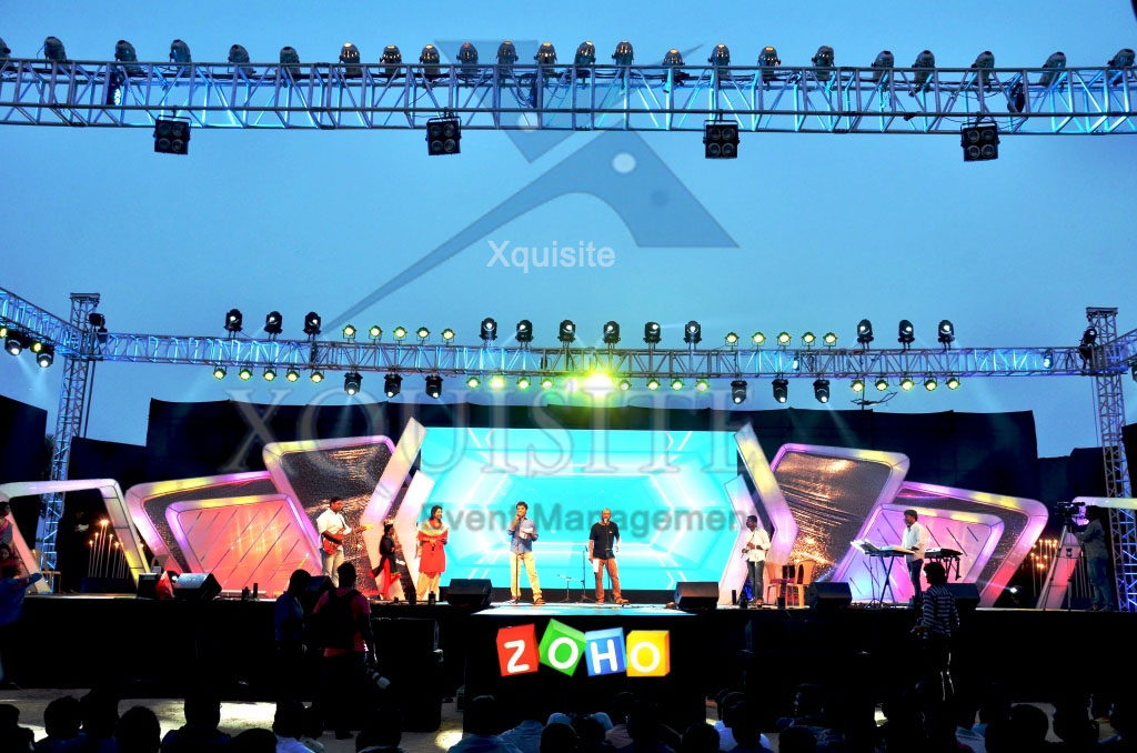 The Event conducted by Xquisite Event Management in Chennai for Zoho.