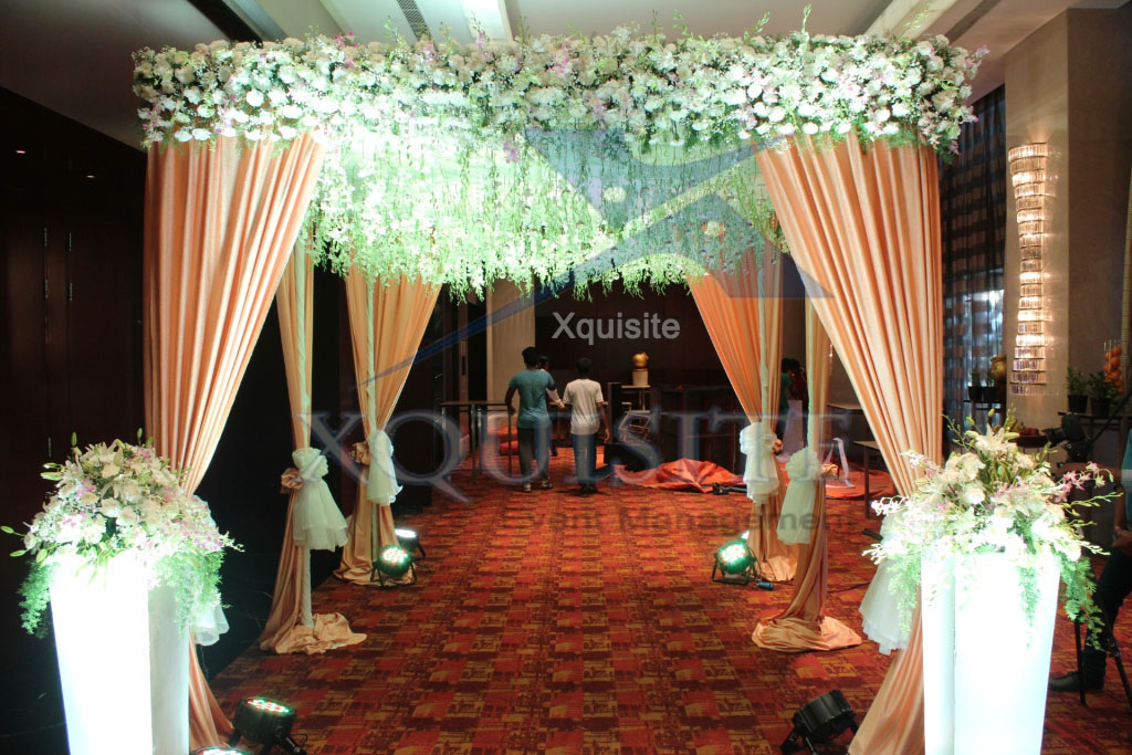 Wedding Reception, The Event conducted by Xquisite Event Management in Chennai.