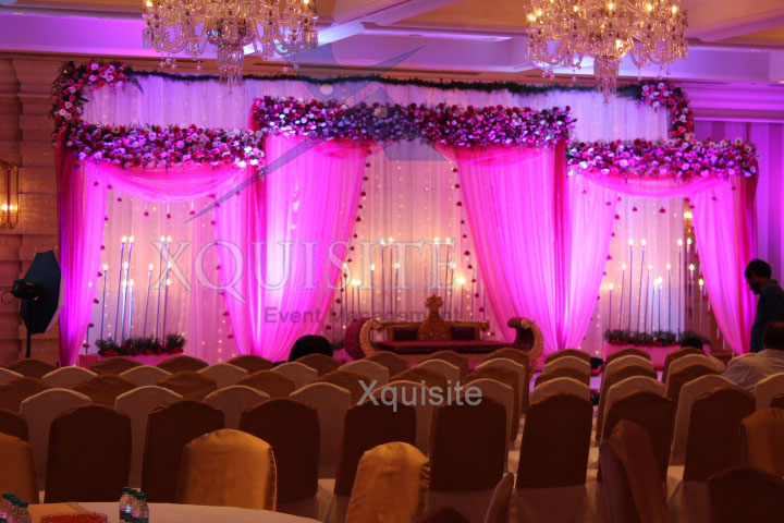 The Wedding Event Management Portfolio of Xquisite Events in Chennai .