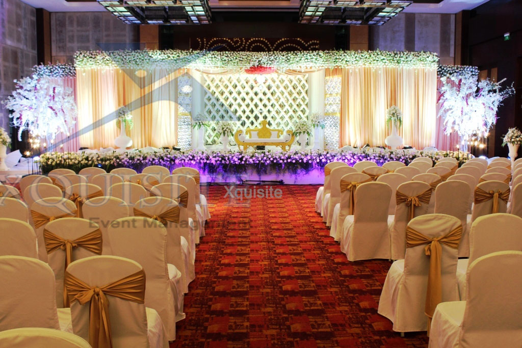 One of the Wedding Reception by Xquisite Event Management Chennai.