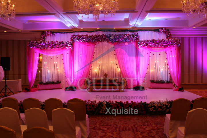 The Wedding Event conducted by Xquisite Event Management in Chennai.
