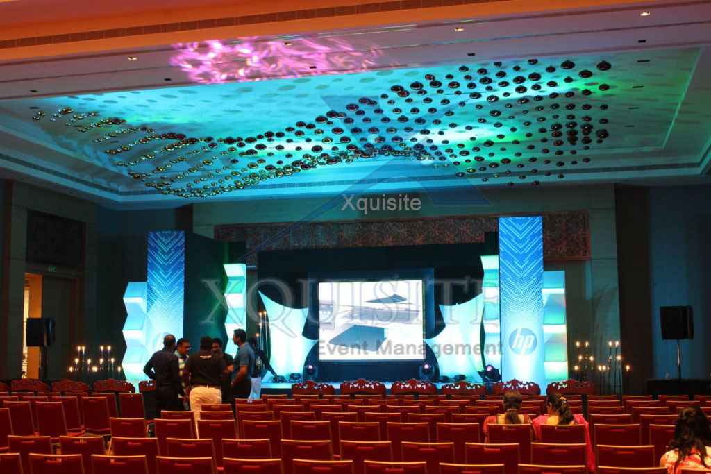 The Event conducted by Xquisite Event Management in Chennai for big Corporate Hewlett Packard.