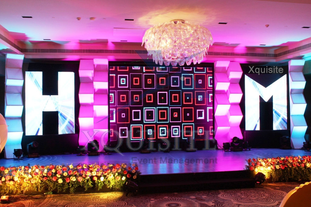 Stage Decoration- The Event conducted by Xquisite Event Management in Chennai, Wedding Events.