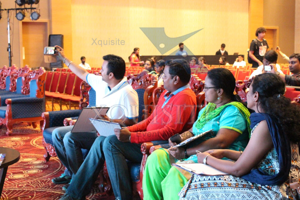 Corporate Event conducted by Xquisite Event Management in Chennai for Corporate giant HP.