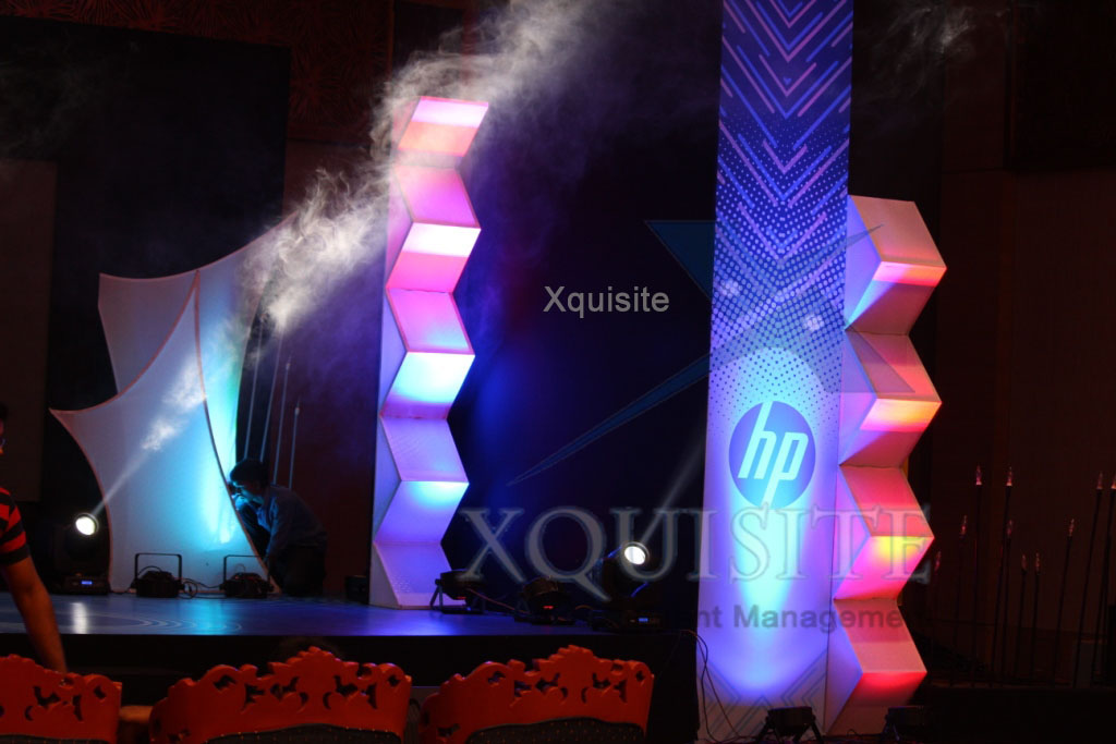 Photo of Event conducted by Xquisite Event Management in Chennai for our client HP.